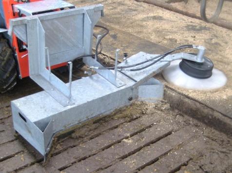 Arrobadera rascadora / Limpiadora de parillas ASS 1200